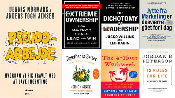 books, collage, all, favourite, recommendation, extreme ownershop, pseudoarbejde